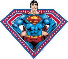 Super Homem - Kit Completo com molduras para convites, rótulos para guloseimas…                                                                                                                                                                                 Mais