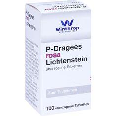P DRAGEES rosa:   Packungsinhalt: 100 St Überzogene Tabletten PZN: 03935599 Hersteller: Zentiva Pharma GmbH Preis: 11,36 EUR inkl. 19 %…