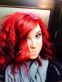 Red hair love!! Obsessed with Pravana Vivids