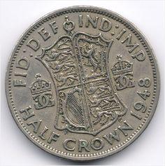 United Kingdom Half Crown 1948 Veiling in de Halve Crowns,Brits,Munten,Munten & Banknota's Categorie op eBid België