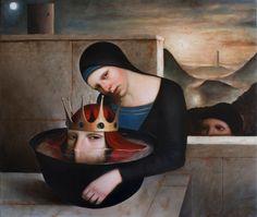 Alessandro Sicioldr's Latest, Dreamlike Oil Paintings | Hi-Fructose Magazine