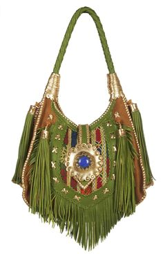 Statement Bag - Mardi Gras Diva Bag by VIDA VIDA m5CRjhDPJj