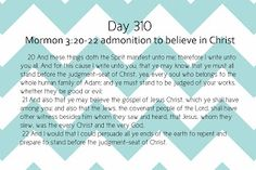 Feast Upon The Words: Days 310... no doubt we are Christian!