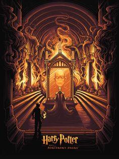 Harry Potter & The Sorcerer's Stone - Dan Mumford