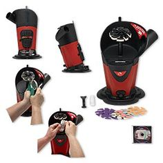 Jooltool™ Sharpening and Polishing System, plastic and steel, red and black, 110/240 volt, 12x9x7 inches. Sold individually.