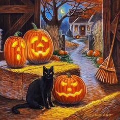 Halloween Images, Halloween Signs, Halloween Cat, Holidays Halloween, Vintage Halloween, Halloween Pumpkins, Happy Halloween, Halloween Decorations, Whimsical Halloween