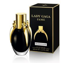 Lady Gaga Fame perfume - Bing Images--It's a little odd that it's black, but it does smell good, actually.