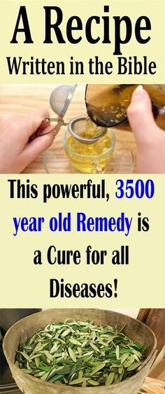 A Recipe Written in the Bible: This powerful, 3500 year old Remedy is a Cure for all Diseases! Healthy Drinks, Get Healthy, Healthy Tips, Healthy Recipes, Health And Wellness, Health Fitness, Holistic Wellness, Holistic Healing, Health Care