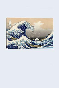 the great wave at kanagawa print $79