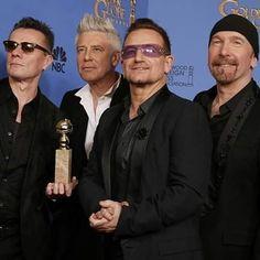 U2 [Golden Globe, 2014] #U2 #u2memes #Bono #BonoVox #TheEdge #AdamClayton #LarryMullenjr #rock #music #rockmusic #rockband #band #goldenglobe #goldenglobes #awards #2010s #2010sstyle #2010smusic