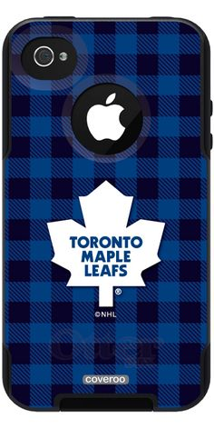 Toronto Maple Leafs® - Plaid Maple Leafs® design on OtterBox® Commuter Series® Case for iPhone / 4 in Black. Iphone 4s, Iphone Cases, Hockey Room, Love My Boys, Toronto Maple Leafs, Gifts For Friends, Man Cave, Holiday Gifts, Christmas Ideas