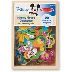Melissa & Doug Disney Mickey Mouse Clubhouse Wooden Magnets - cute party favors