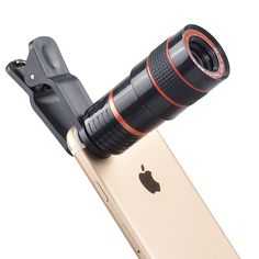 High Quality Smartphone Telephoto Lens - OFF Canon Lens, Camera Lens, Galaxy Note, Iphone Cases For Girls, Iphone 6, Samsung, Camping Life, Zoom Lens, Smartphone