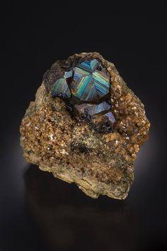 Andradite - San Pedro Mine, Santa Fe County, New Mexico, USA Size: 4.2 cm wide
