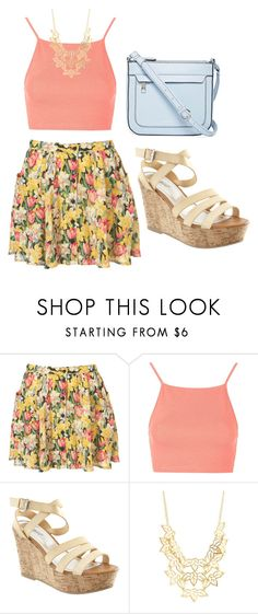 """""""Untitled #247"""" by kenzie-raye13 on Polyvore featuring Topshop, Charlotte Russe, Liz Claiborne, women's clothing, women, female, woman, misses and juniors"""