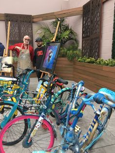 Collaboration with OFO bikes for Festival of the Arts in North Park - On CBS Morning News with artist Chris Smith