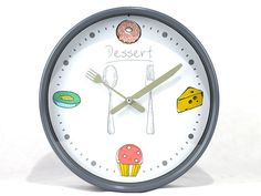 #relojes de pared de #frutas    economicas online www.catayhome.es