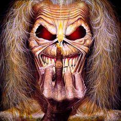 """Eddie"" of Iron Maiden http://www.pinterest.com/TheHitman14/u-r-1-celebrity-birds/"