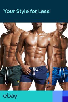 804b4248137 Mens Summer Beach Shorts Swimwear Swimming Trunks Floral Swim Pants Sports  Boxer
