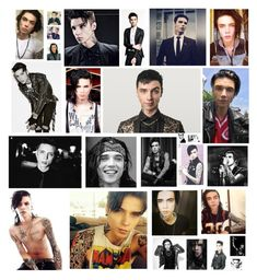 """Andy Biersack"" by ria-c ❤ liked on Polyvore featuring art"