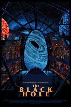 Disney's The Black Hole by Killian Eng (click link for closeups)