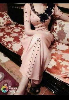 ⚜Pinterest :@haf_tima⚜ Chic Dress, Dress Skirt, Modest Fashion, Fashion Dresses, Arabic Dress, Eid Dresses, Designer Dresses, Beautiful Dresses, Vintage Ladies