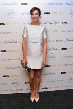 Kristen Wiig at the screening of 'Girl Most Likely' in New York City
