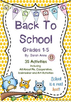 Back to School Activity Bundle 60 Pages of ice breaker, cooperative games, first day of school jitters and All About Me activities. Download the free preview to see a description of all activities. 60 Pages divided into 5 sections: 1-All About Me Booklet, 2- First Day Activities, 3-Icebreaker and cooperative games, 4-Art Activities that will decorate your classroom  5Just for fun. #firstday #backtoschool #classroomdecor #allaboutme #icebreakers #cooperativegames #firstdayjitters #kissinghand