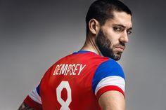 USA 2014-15 Nike Away (Clint Dempsey)