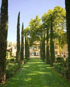 Le Mas des Poiriers near Avignon via The Romantic French Château's Facebook Page