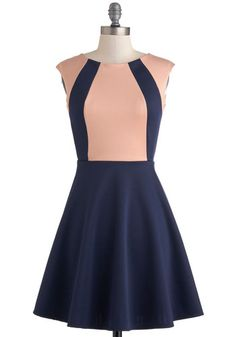 Staying in Step Dress, #ModCloth