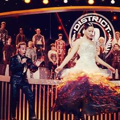 """I love how hes in the back all """"oh snap! Shes the mockingjay! Capitol aint gonna like this!"""""""