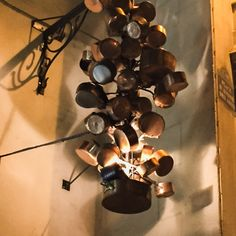 Pots and pans installation at the Maison et Objet Show in Paris. #MO15 #septemberinparis