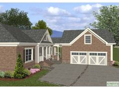 Craftsman House Plan with 1800 Square Feet and 3 Bedrooms from Dream Home Source | House Plan Code DHSW62648