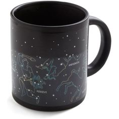 Cosmic The Big Sipper Mug (€13) ❤ liked on Polyvore featuring home, kitchen & dining, drinkware, fillers, mugs, food, cups, kitchen, black and drinkware and bar