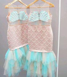 Vestido de sirenita
