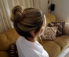 #beauty #hair #bun
