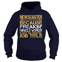 Awesome Tee For Newscaster T Shirts, Hoodies. Get it here ==► https://www.sunfrog.com/LifeStyle/Awesome-Tee-For-Newscaster-97295258-Navy-Blue-Hoodie.html?41382 $36.99