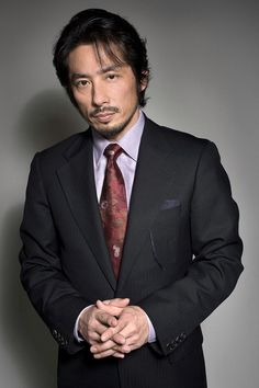 Hiroyuki Sanada, the true Takeda! Man looks great in a suit