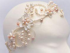 Bohemian Bridal Hair Accessories Boho Bridal by gadegaarddesign