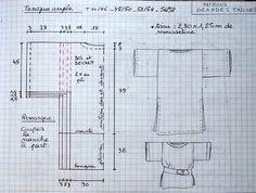 Tunique Large jusqu'au 58, simple et efficace pour débutantes