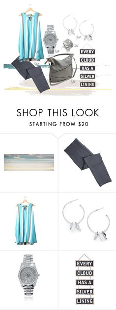 Silver Lining by maria-himes on Polyvore featuring Parvez Taj and Silver Lining