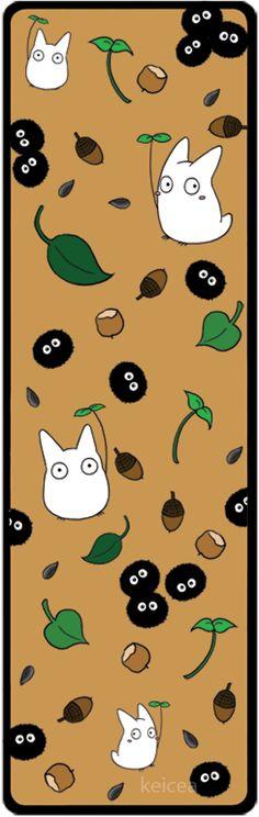 Totoro Bookmark by keicea.deviantart.com