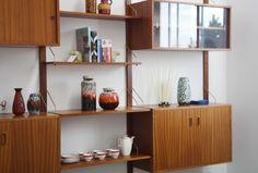 Modular Danske Mobler Wall Unit - Mr. Bigglesworthy Designer Vintage Furniture Gallery