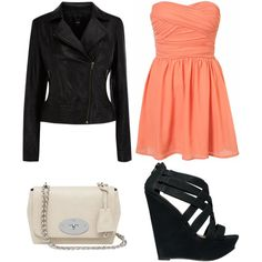 Combo of Girly and Edgy... Party-Wear. -Alizah
