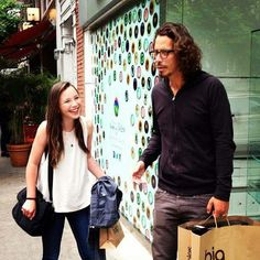 Chris Cornell With His Daughter Lily