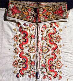 Norwegian folk embroidery, East Telemark