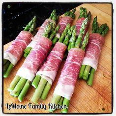 ... Prosciutto wrapped asparagus, Asparagus tart and Roasted asparagus