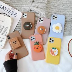 3D Cute Cartoon Oreo Cookies Soft phone case for iphone X XR XS 11 Pro – elegantonlinemarket
