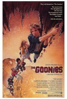 Los Goonies (The Goonies), de Richard Donner, 1985. Ilustración de Drew Struzan